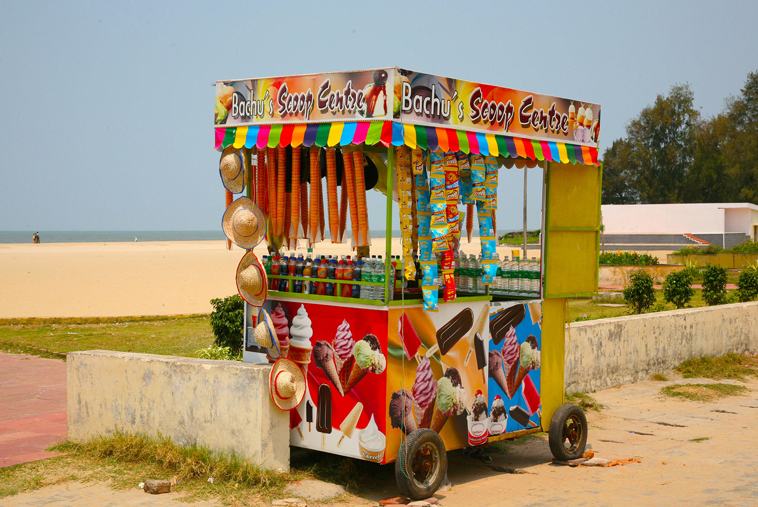 Ice Creams, Kerala, India. Photo credit: babyelephant